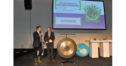Volop 'Green Inspiration' tijdens opening Dutch Green Building Week