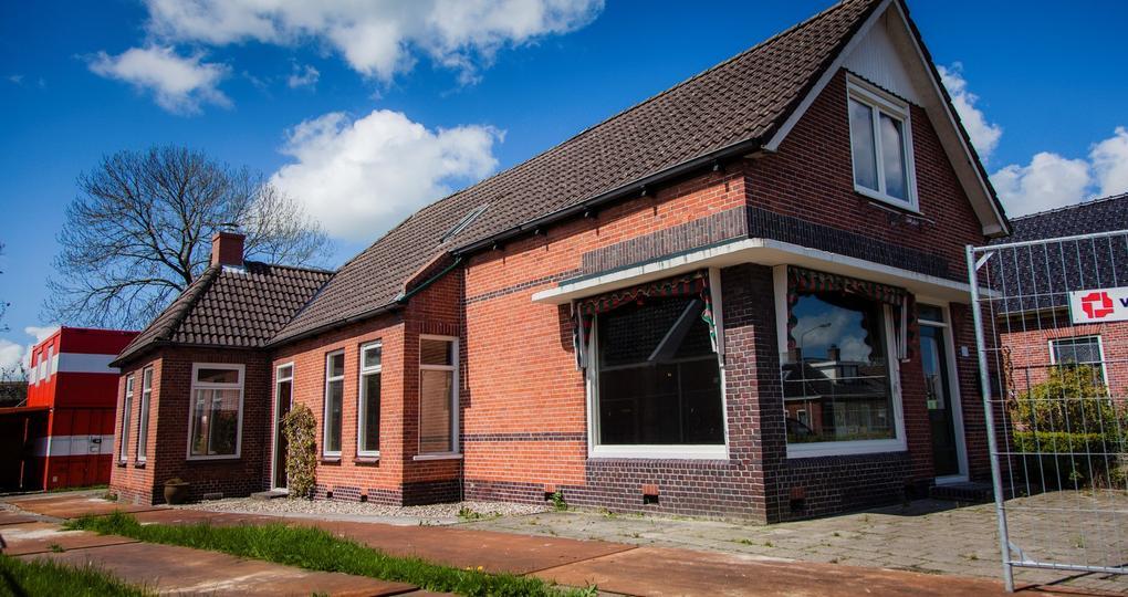 Voormalig postkantoor in Gronings aardbevingsgebied energieneutraal verbouwd