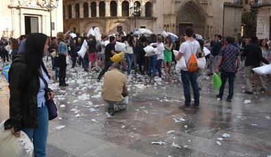 Vrijwillige collectiviteit in de openbare ruimte