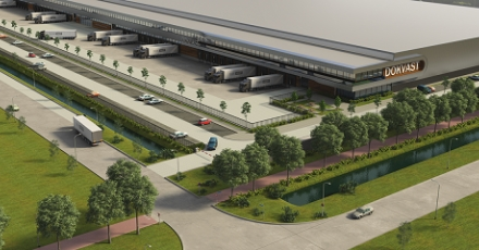Wederom duurzaam distributiecentrum bedrijventerrein Tilburg