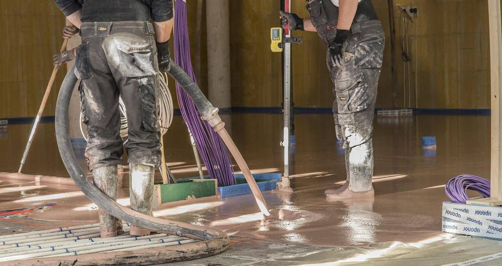 'Wij geven de garantie op thermische prestaties van vloerverwarming'