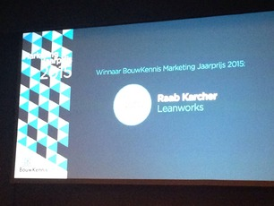 Winnaar Bouwkennis Marketing Jaarprijs