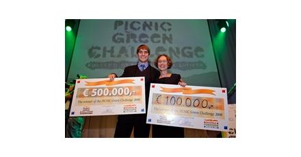 Winnaar Picnic Green Challenge