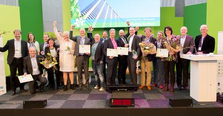Winnaars Duurzaam Bouwen Awards 2016 bekend