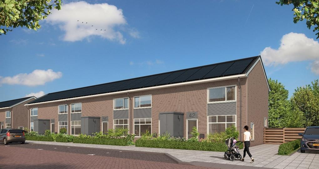 Woningen in Emmen gerenoveerd naar nul-op-de-meter