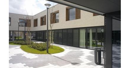 Woonzorgcentrum voorzien van comfortabel binnenklimaat