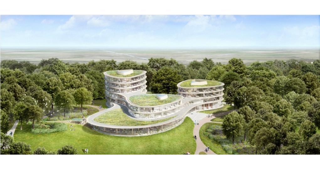 Zeer duurzaam nieuw hoofdkantoor Triodos ontworpen volgensbiomimicry