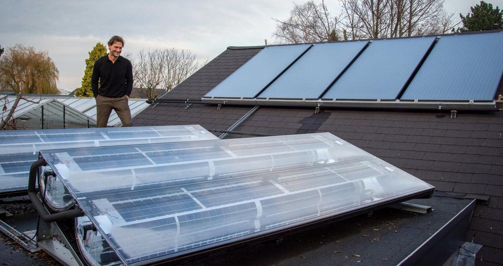 Duurzame energie én warm water uit zonnepanelen