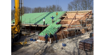 Zorghuis krijgt 'warm' dak