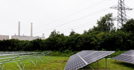 Zwolle: drie voetbalvelden vol zonnepanelen