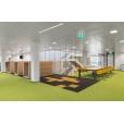 5.500 m2 PCM-materiaal in gerenoveerd kantoor ABN Amro