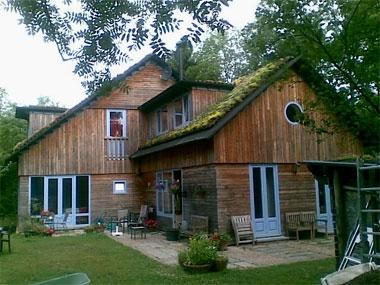 De terugblik bio ecologische woning van jean frantzen en for Huis duurzaam maken