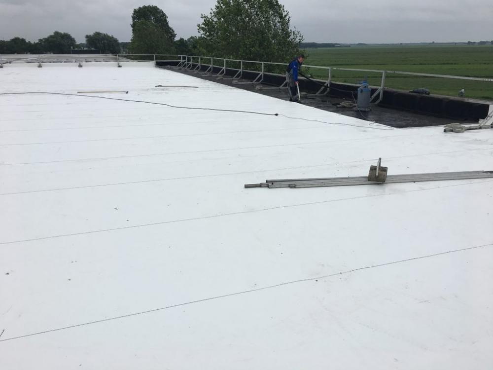 De sterke combinatie van witte dakbedekking en zonnepanelen blog duurzaam gebouwd - Sterke witte werpen en de bal ...