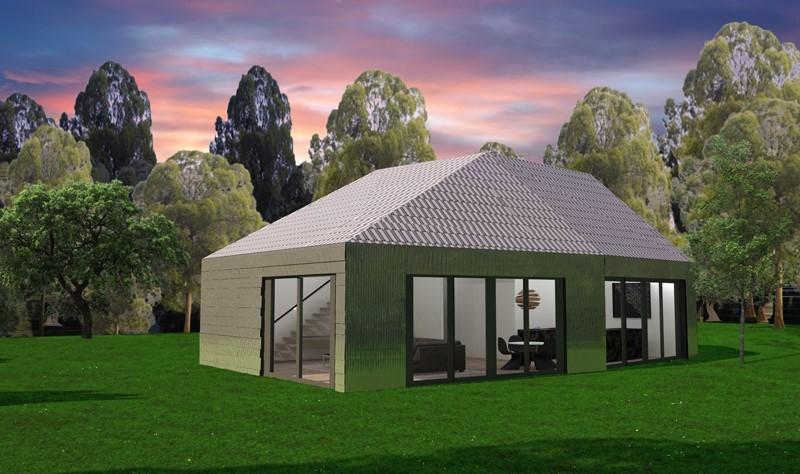 Eerste huis van 100 gerecycled materiaal blog for Compleet huis laten bouwen