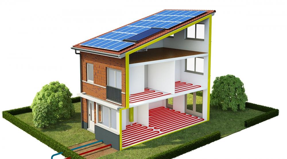 Kleine Prefab Woning : Energieleverende woning voor euro duurzaam gebouwd