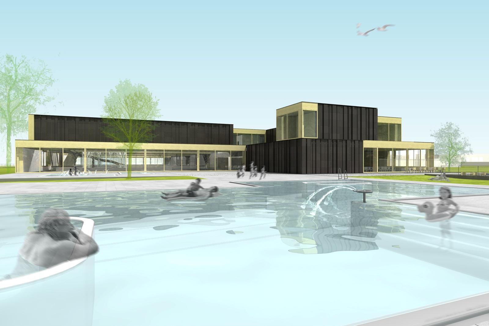 Het duurzaamste zwembad van nederland duurzaam gebouwd