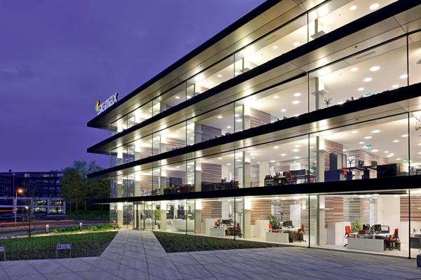 Kantoorgebouw met allure blog duurzaam gebouwd for Kantoor architect