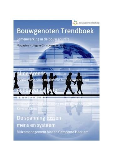 Bouwgenoten trendboek